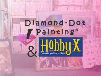 4 Days with Diamond-dot Painting® at Hobby-X