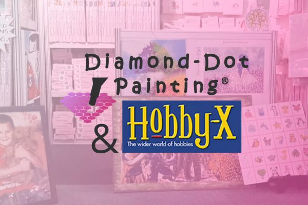 4 Days with Diamond-dot Painting® at Hobby-X 2020